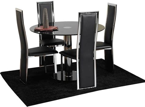 4 Set Dining Table Dinette Table And 4 Chairs