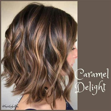 caramel color highlights caramel hair colour pretty hair hair styles balayage