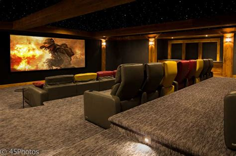 home theater system with award winning design and installation