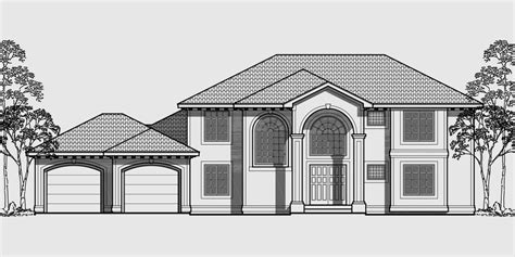 One Story Duplex House Plans mediterranean house plans luxury house plans 10042
