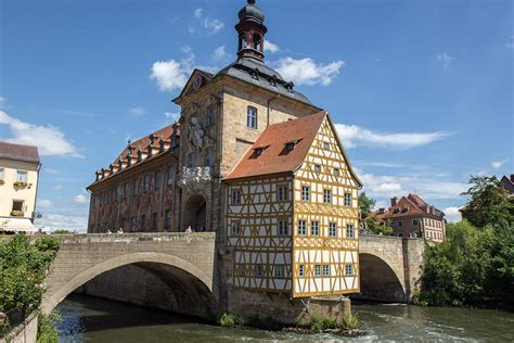 Small Houses Architecture by The Old Town Of Bamberg Germany