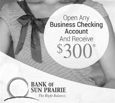 Bank Of Sun Prairie Cottage Grove by Bank Of Sun Prairie 300 Business Checking Account In