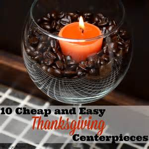 Easy Favors For The Table by 10 Easy Inexpensive Thanksgiving Table Decorations