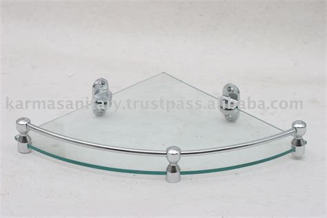 Bathroom Corner Glass Shelf by Bathroom Corner Glass Shelves Photo Detailed About