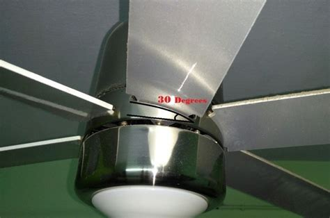 how to measure ceiling fan blades how to measure ceiling fan blade angle energywarden
