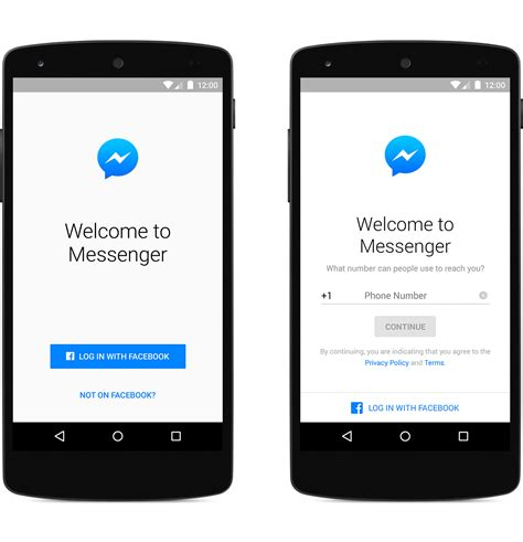 android messenger android mobile you no longer need a account to log into messenger