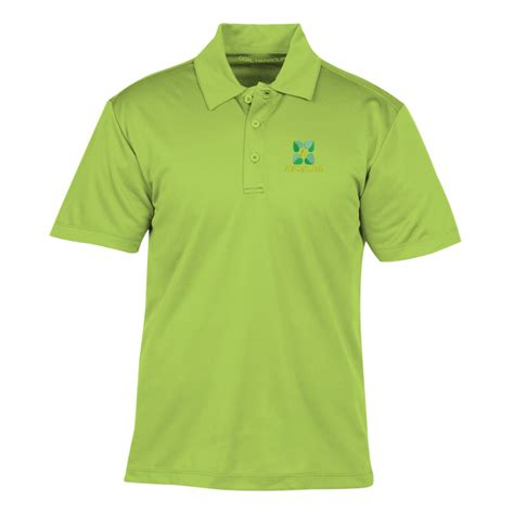 design your own logo hoodie lime green 4imprint ca coal harbour everyday wicking polo men s