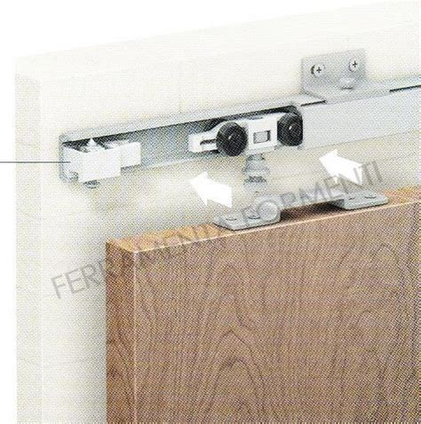 accessori per porte scorrevoli in legno kit porta scorrevole in legno omge 1391 40 kg formenti store