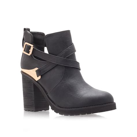 miss kg bonjour ankle boots in black lyst