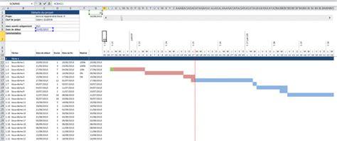 exemple diagramme de gantt excel diagramme de gantt sur excel mod 232 le 224 t 233 l 233 charger