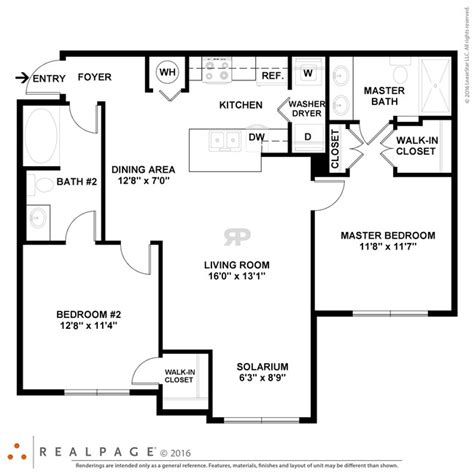 clearwater floor plan the amalfi at clearwater rentals clearwater fl