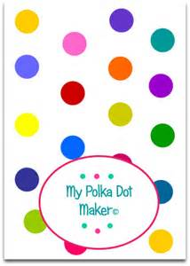 Dot Template by Pin Polka Dots Dot Template Image Of Print On