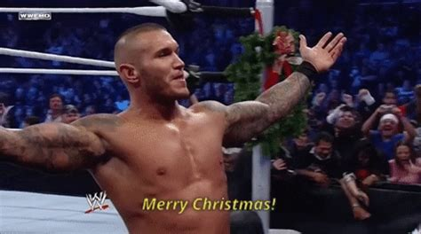 merry christmas gif  wwe find share  giphy