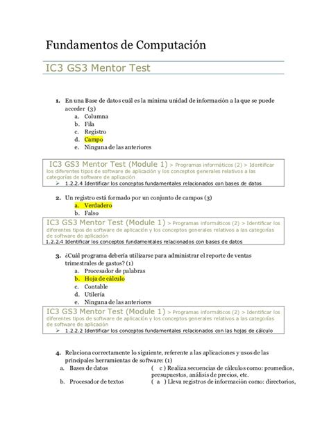 preguntas abiertas informatica 02 cuestionario fundamentos de computaci 243 n gs3
