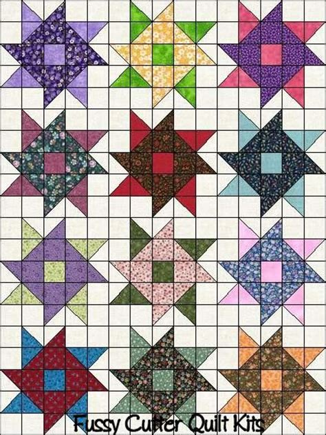 Patchwork Designs And Patterns - 17 best images about large block quilts on