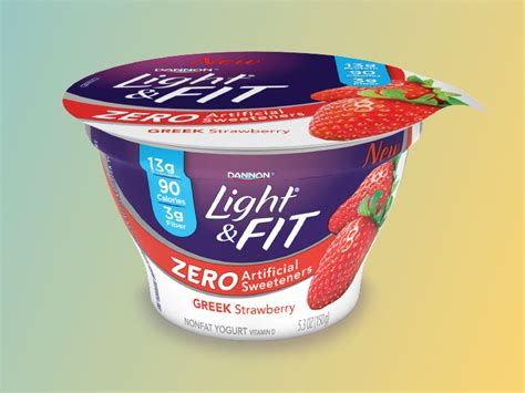 dannon light and fit yogurt ingredients items vg s grocery