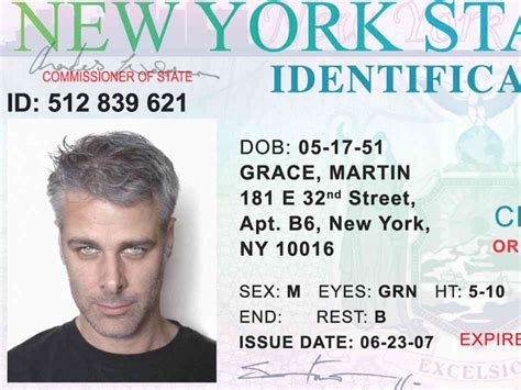 new york id card template a journey into a killer s personal effects npr
