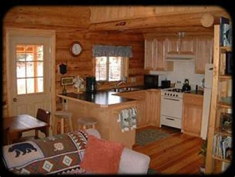Small Cabin Kitchen Layouts by Small Ideas Log Home S Cabins Decore