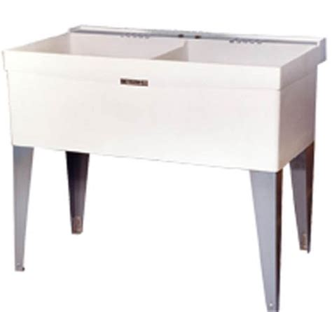double laundry tub swan ssus1000 018 bisque solid surface utility home