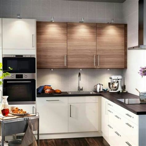 small kitchen ikea cabinets   kitchens pinterest