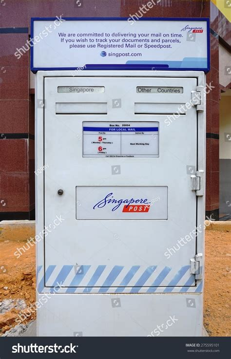 Singpost Address Finder Singapore 17 April 2015 A White Mailbox From Singpost The Singapore Postal Service