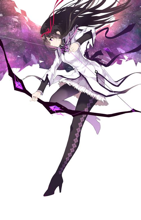 Anime Art Site Mahou Shoujo Madoka Magica Homura Akemi Madoka Magica
