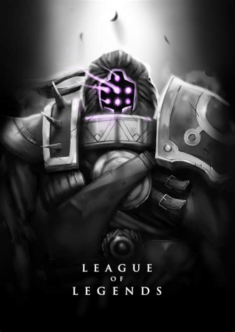 League Black White jax by wacalac on deviantart black and white lol posters