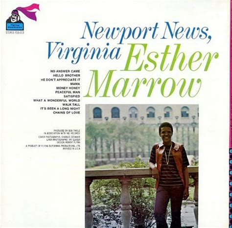 Newport News Va Records Esther Marrow Newport News Virginia Breakwell Records
