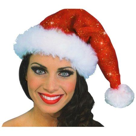 adults only funny santa hat sparkle santa hat costume accessory walmart