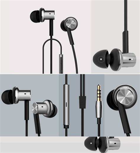 Xiaomi Quantie Pro Hybrid Driver Earphone With Mic Original xiaomi hybrid earphone quantie high definition dual dynamic driver in ear headphones directcanada