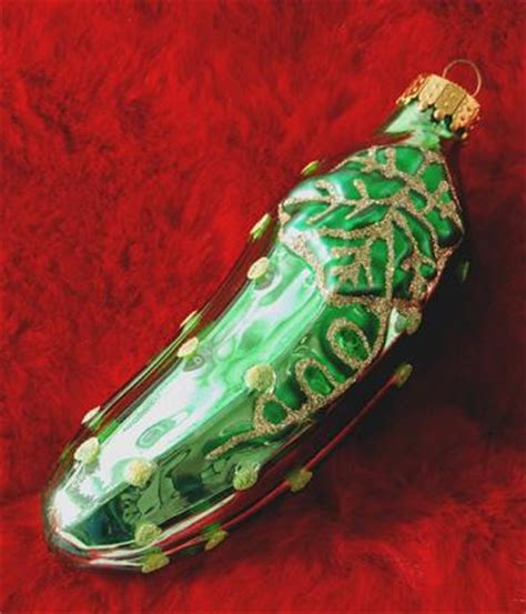 history of pickle ornament pickle ornament boise