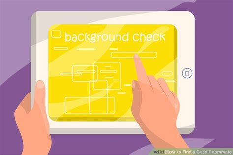 Roommate Background Check How To Find A Roommate 14 Steps With Pictures