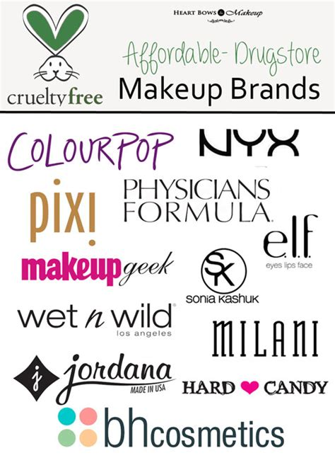 top 8 safe cosmetic brands cruelty free drugstore makeup brands cruelty free brands