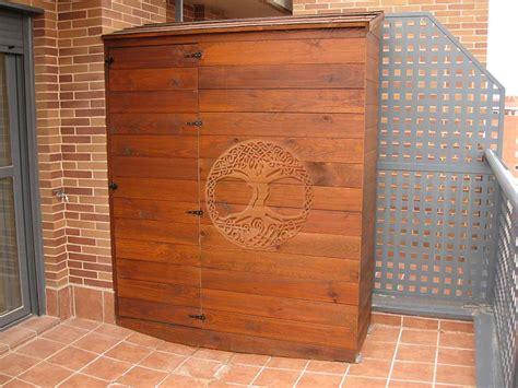 armarios exterior madera casetas de madera en madrid armarios de madera para exterior