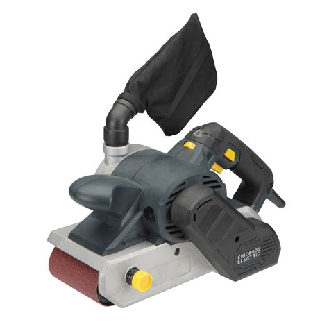 10 Amp 4 In X 24 In Variable Speed Belt Sander