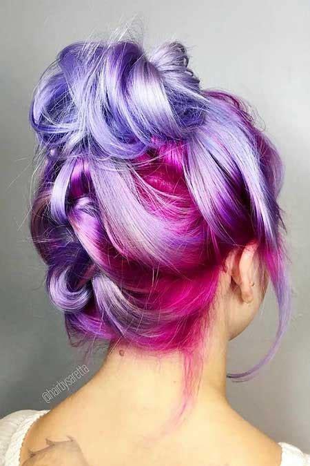 elderly hair styles with purpke 11 lila meerjungfrau haare farben die sie lieben werden
