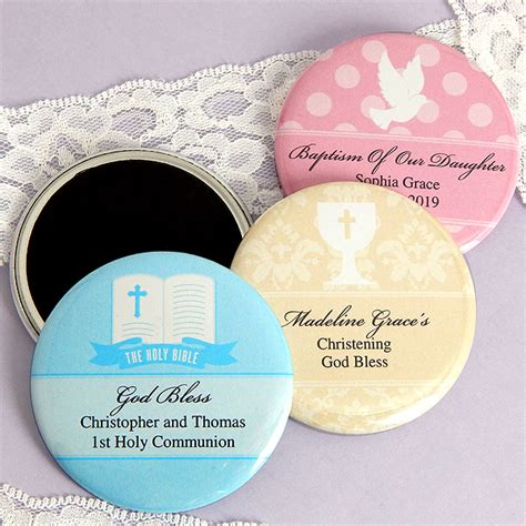 Magnet Giveaways - baptism magnet favors personalized christening keepsakes