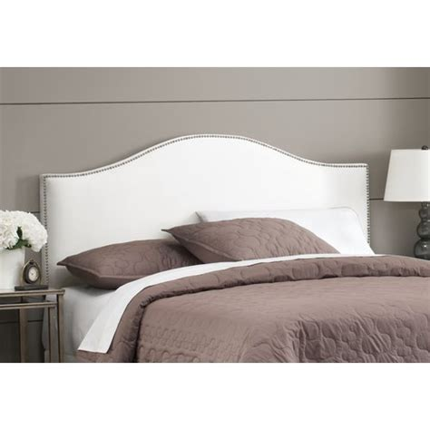 skyline furniture premier nail head upholstered headboard