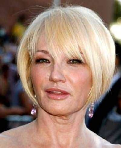 flattering bob hairstyles for square faces and aged 40 3 hairstyles for older women with square faces