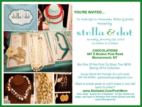 Stella And Dot Invitation Templates by Jewelry Trunk Show Invitation Wording Jewelry Ufafokus