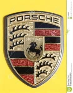 Porsche Stock Symbol Porsche Logo Editorial Photo Image 26769431