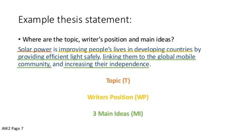 Intro And Thesis by Introductory Paragraphs And Thesis Statements