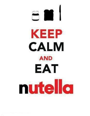 imagenes de keep calm and nutella keep calm and eat nutella on tumblr