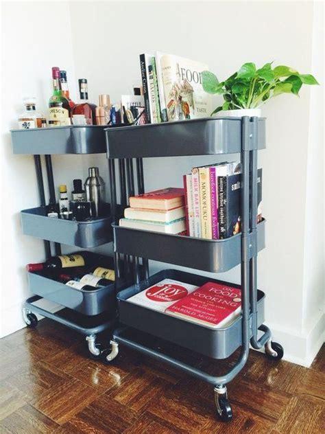 raskog cart ikea cookbook shelf ikea cart and bar on pinterest