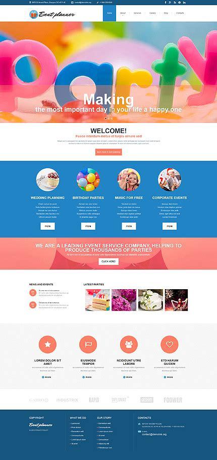 template joomla kaufen event planner joomla template 54552 sitevorlagen de