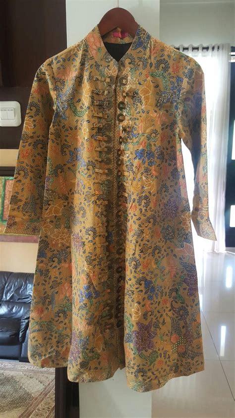 Dress Batik Cantik Brokat Koin best 25 batik blazer ideas on batik fashion