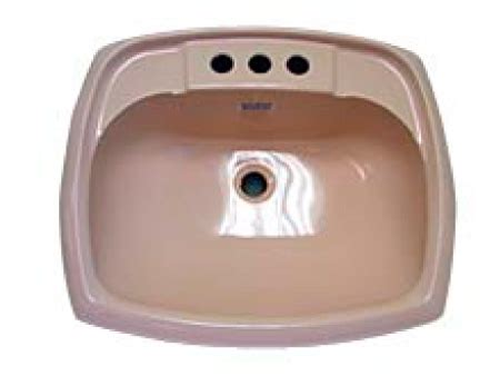mobile home bathroom sinks rectangular ivory plastic bathroom sink 17 x 20 mobile