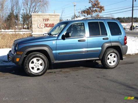 liberty colors 2006 atlantic blue pearl jeep liberty sport 4x4 23653845