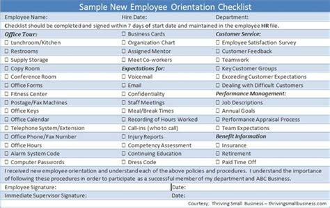 onboarding template sle orientation program for new employees template 28 images