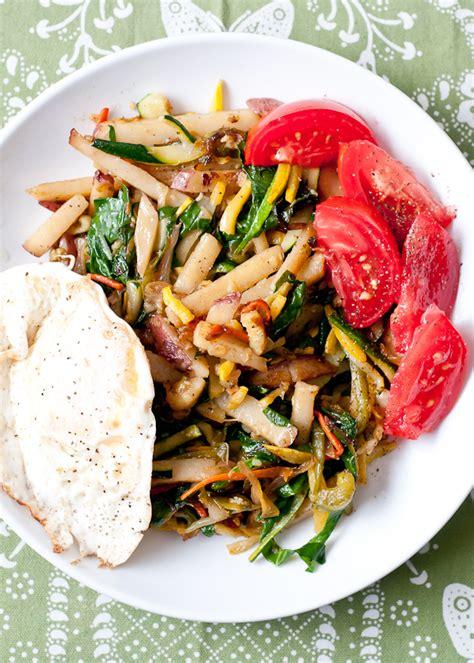 Recipe For Garden Vegetable Breakfast Hash Cafe Johnsonia Garden Vegetable Recipes